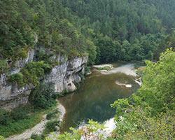 Gorges tarn canoe